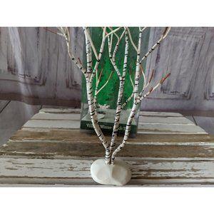 Department 56 52167 Snow Village Winter Birch Tree